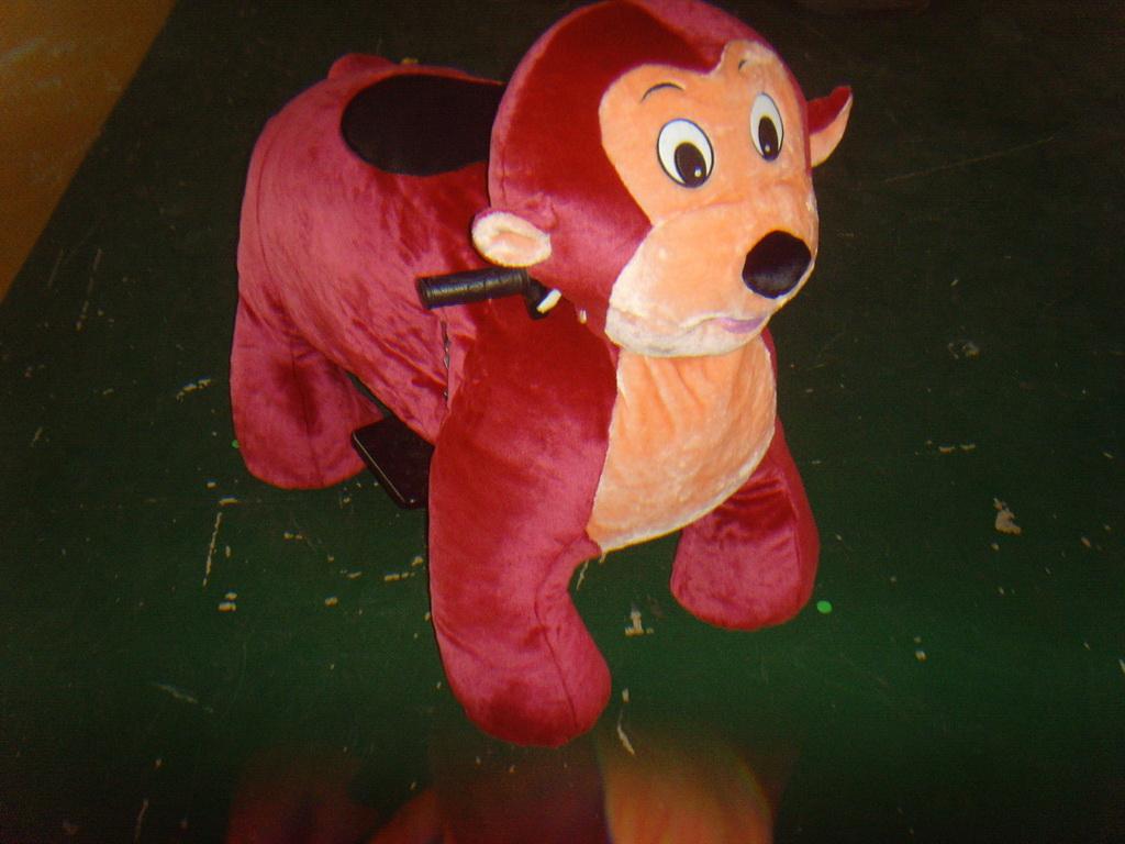 חיות ממונעות לילדים-קוף