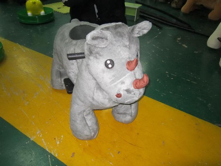 חיות ממונעות לילדים-שור