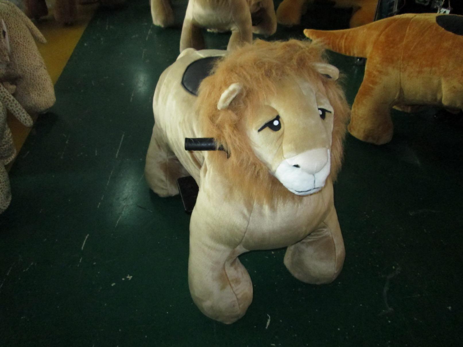חיות ממונעות לילדים-מלך האריות