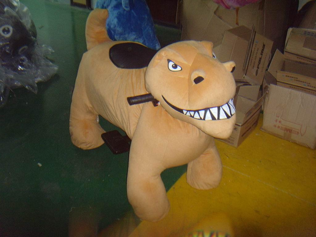 חיות ממונעות לילדים-דינוזאור