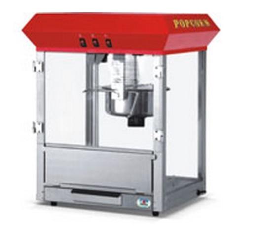 מכונת פופקורן מקצועית 400 מנות בשעה